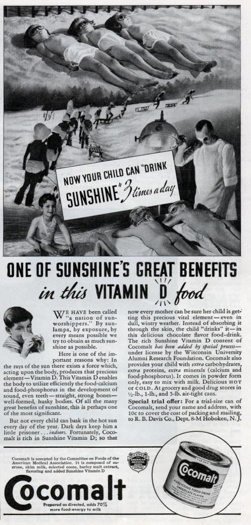 Vintage Cocomalt ad